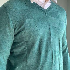Green Maus & Hoffman Sweater
